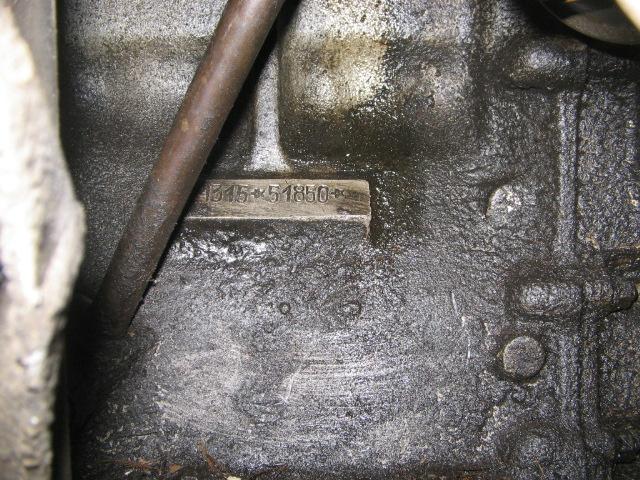 Alfa romeo 1750 engine numbers 16
