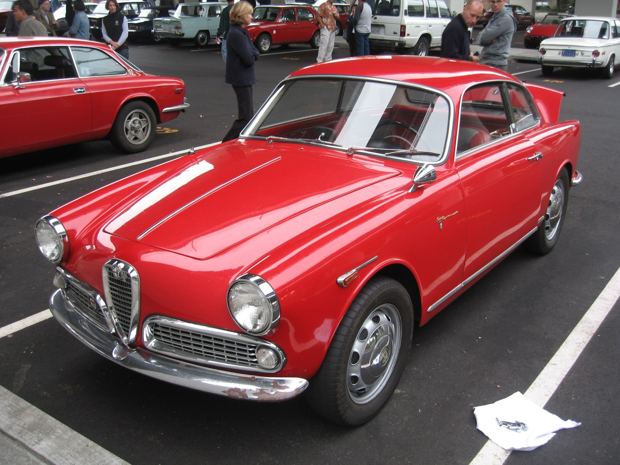 1956 alfa romeo giulietta sprint veloce related infomation specifications weili automotive network. Black Bedroom Furniture Sets. Home Design Ideas