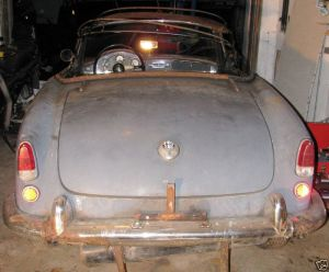 sad 61 giulietta spider tail