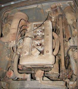 sad 61 giulietta spider engine