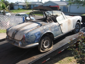 giulietta spider trailer pass back