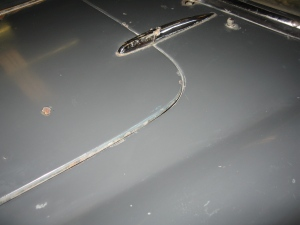 Concours original Giulietta Spider paint.