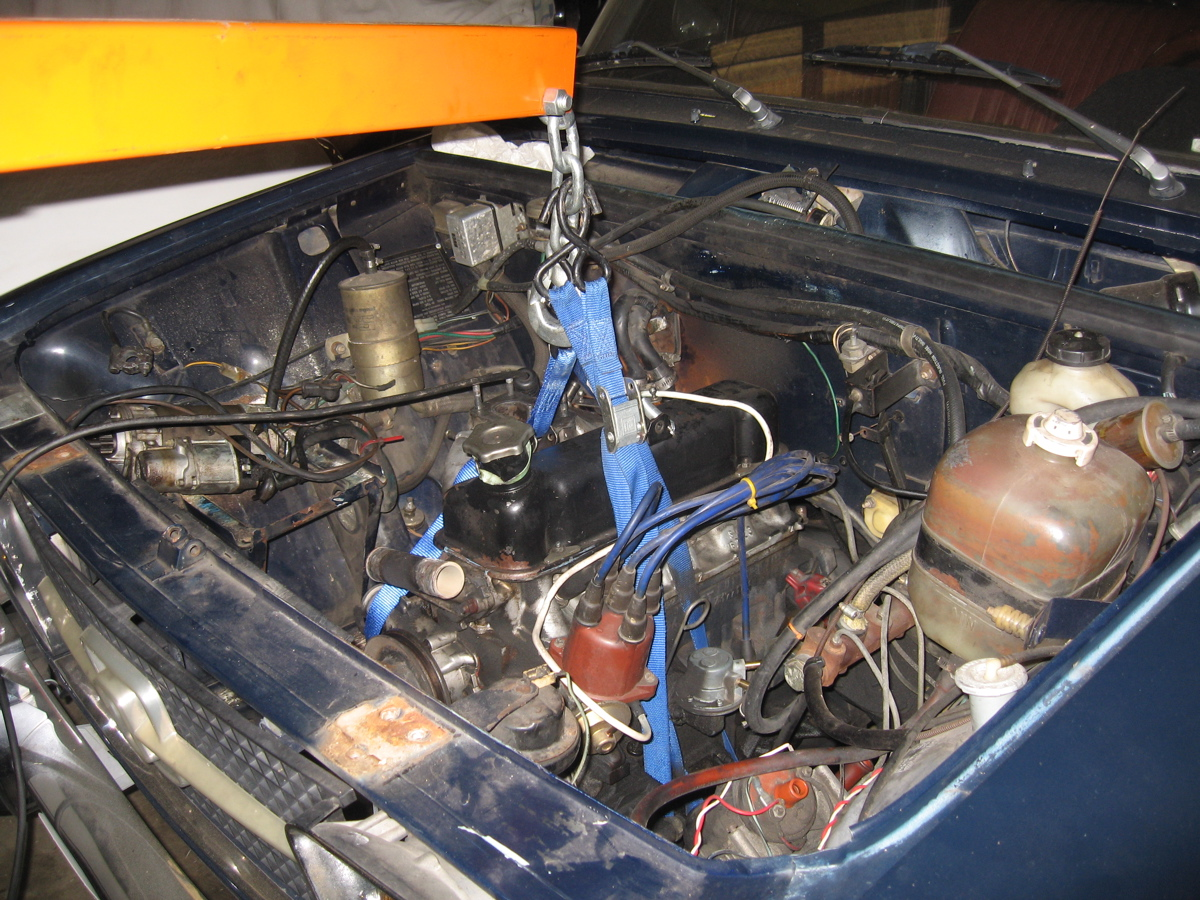 1984 alfa romeo spider engine swap 10