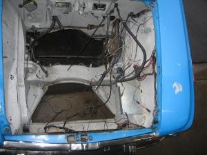 TI engine compartment
