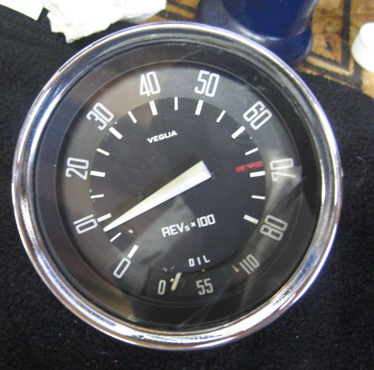 SS Veglia gauge restore part 2 -finale- | Alfa Romeo Giuliettas