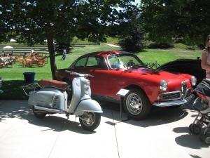 Giulietta's Sprint and 1959 NSU Prima III KL
