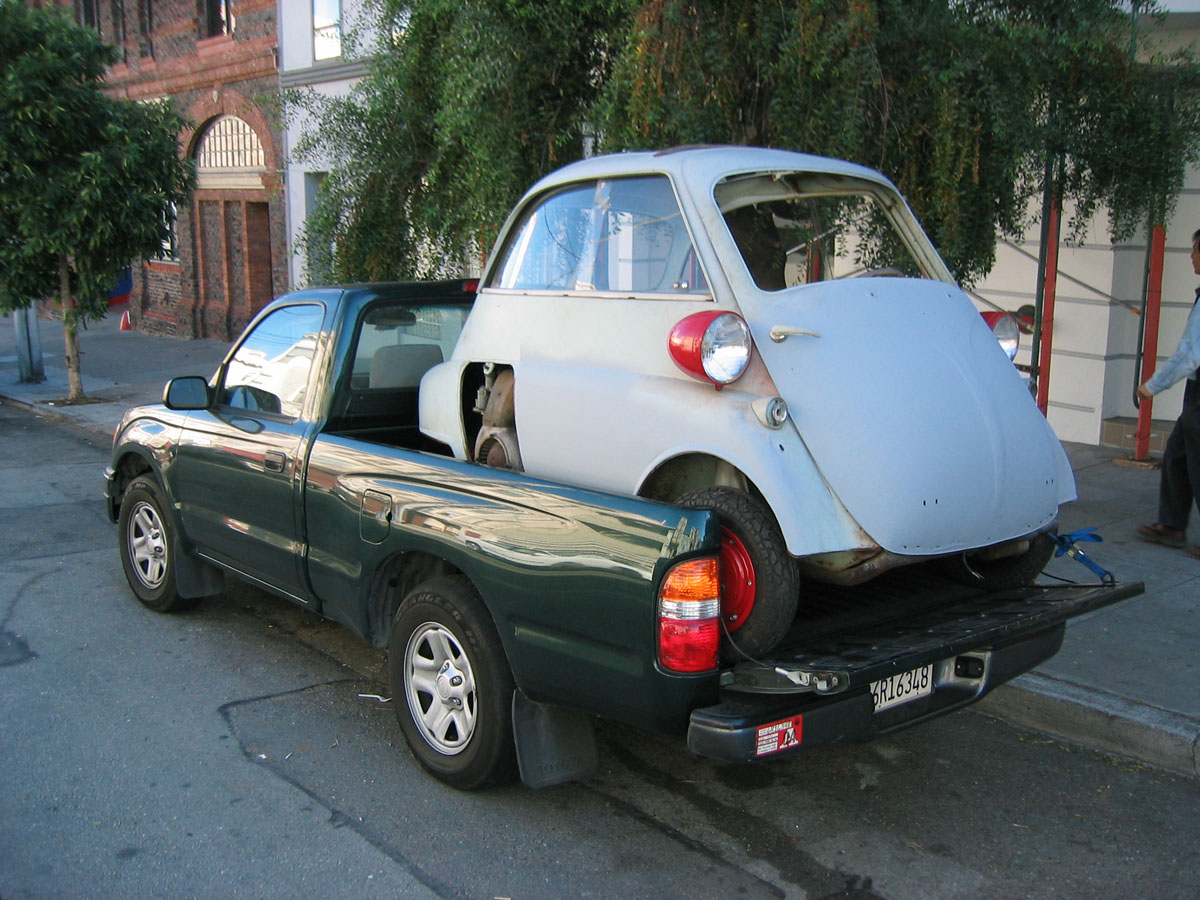 Bmw Isetta From Vacaville