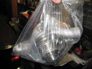 water pump in a bag