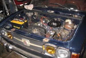 FIAT ONE ENGINE