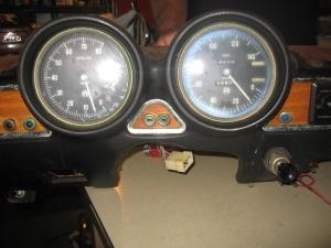 69 alfa gtv gauges