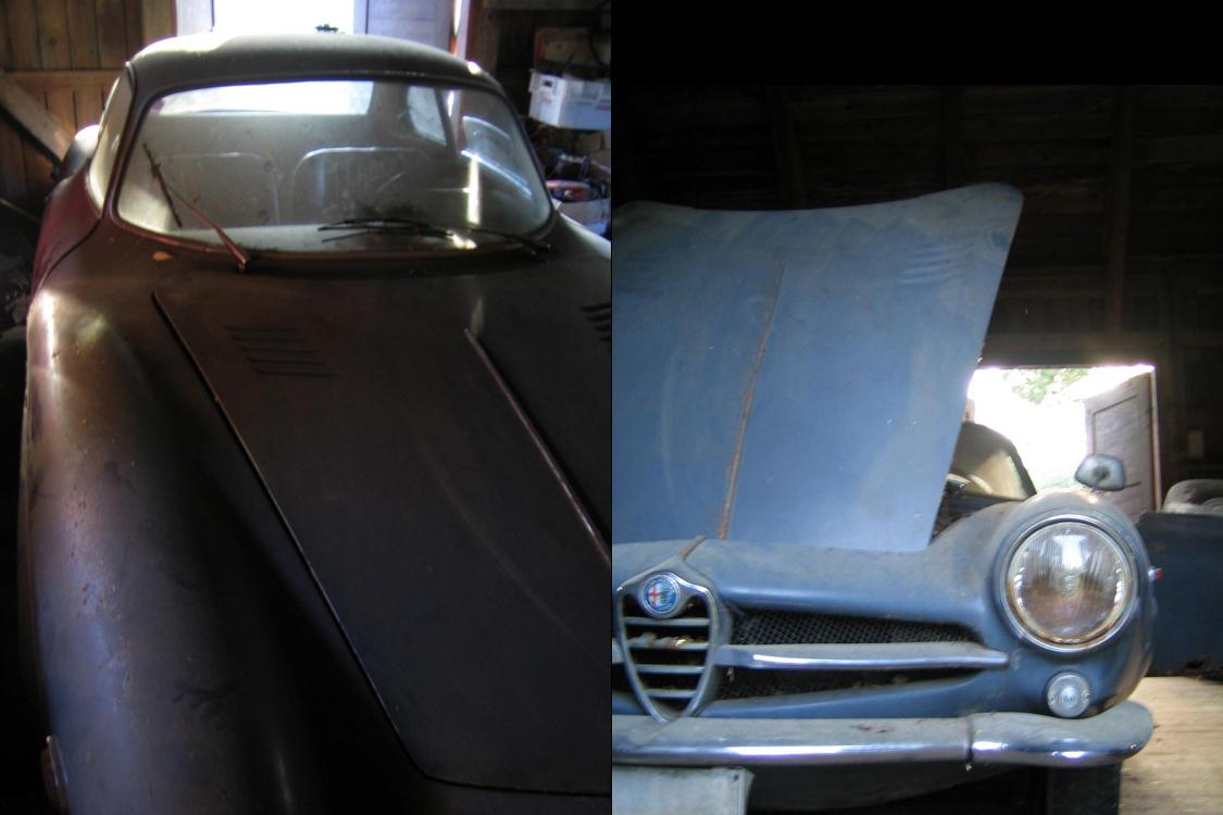 of Bertone built Alfa's.