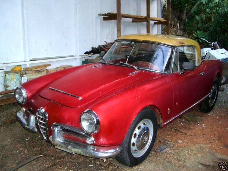 1978 Alfa Romeo Spider Veloce. Market 123 was Giulia Spider