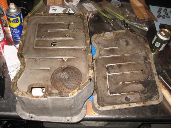 veloce oil pan bottom off