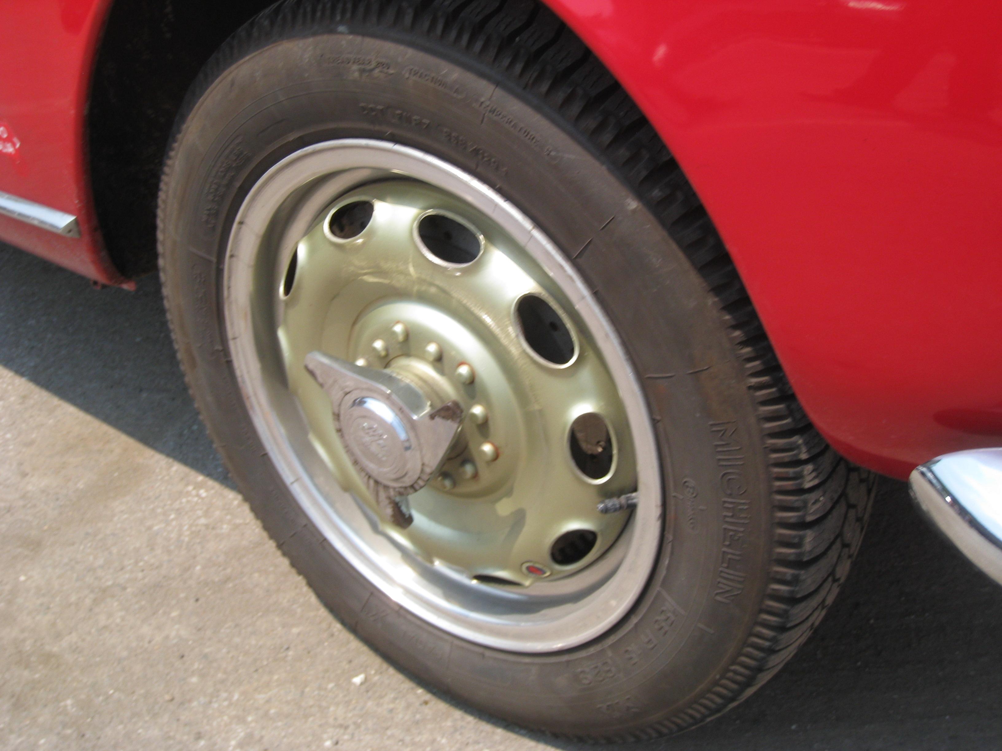 on this Giulietta Spider.