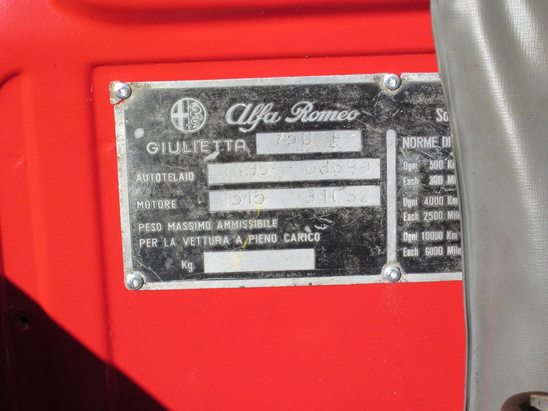 Alfa romeo engine identification numbers 13