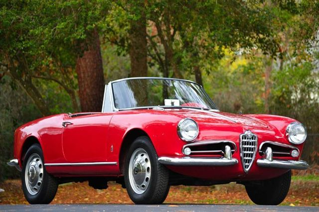 Spider And Spider Veloce Market Review Alfa Romeo Giuliettas - Alfa romeo convertible for sale