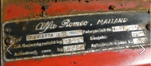 mailand giulietta build plate